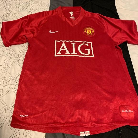 2bc7e32e2 Manchester United 2007 Jersey. M 5c74f3ddde6f624e294149e7